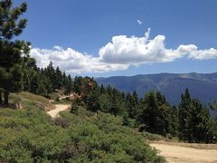 Rock Climbing Photo: Scenery along the Skyline Trail (2N10), San Bernar...