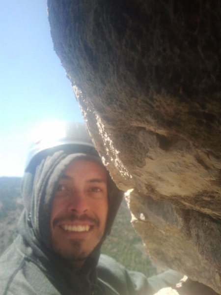 Me on top of Tiger by the Tail on Palomas Peak