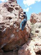 Rock Climbing Photo: Bouldering in Socorro