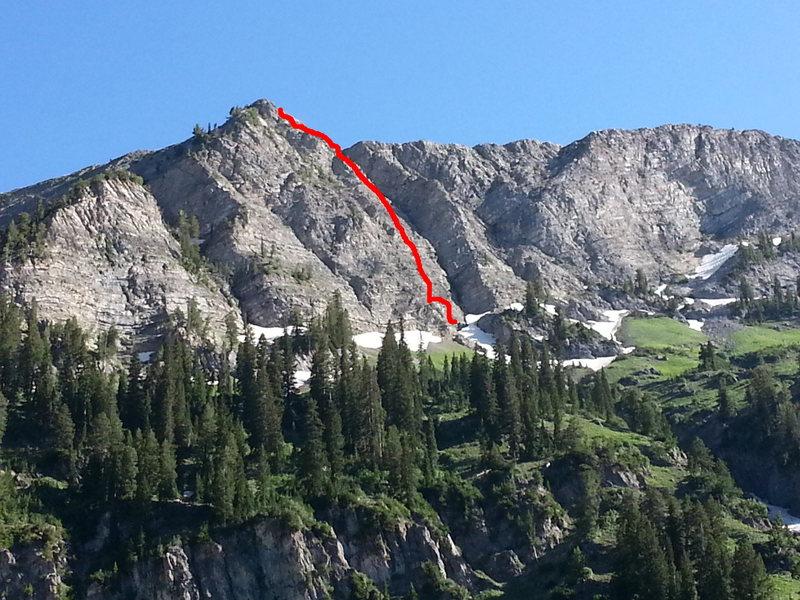 Climb follows the 'prow'