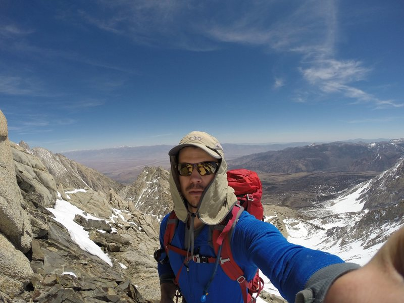 I did not find a burrito on the East Aréte of Mount Humphreys.