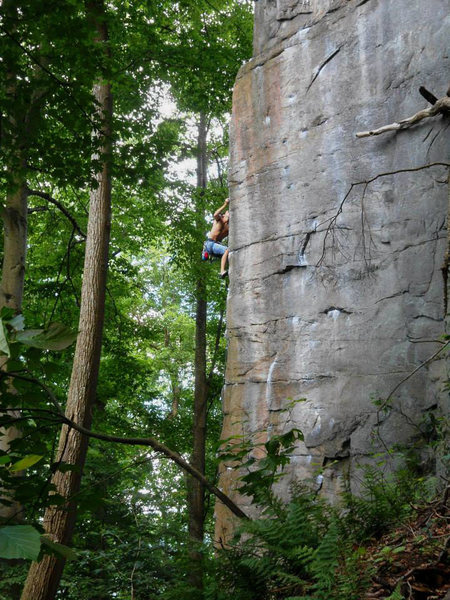 Preparation H (mid Crux)- photo by matt