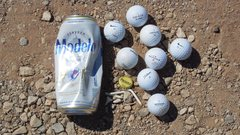 Rock Climbing Photo: Beer and Golf? This is new for Texas Canyon.