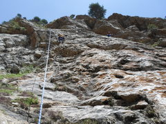 Rock Climbing Photo: an Indian school kid on Long Exact Sequence