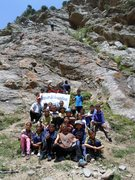 Rock Climbing Photo: We ended up bringing a bus full of school kids to ...