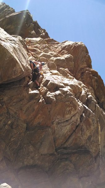 Rock Climbing Photo: Incompleteness is the roof crack to the RIGHT of t...
