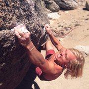 Rock Climbing Photo: crimphard