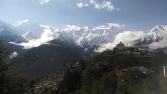 Rock Climbing Photo: Kalpa and the view.  Peak to the left is Jorkanden...
