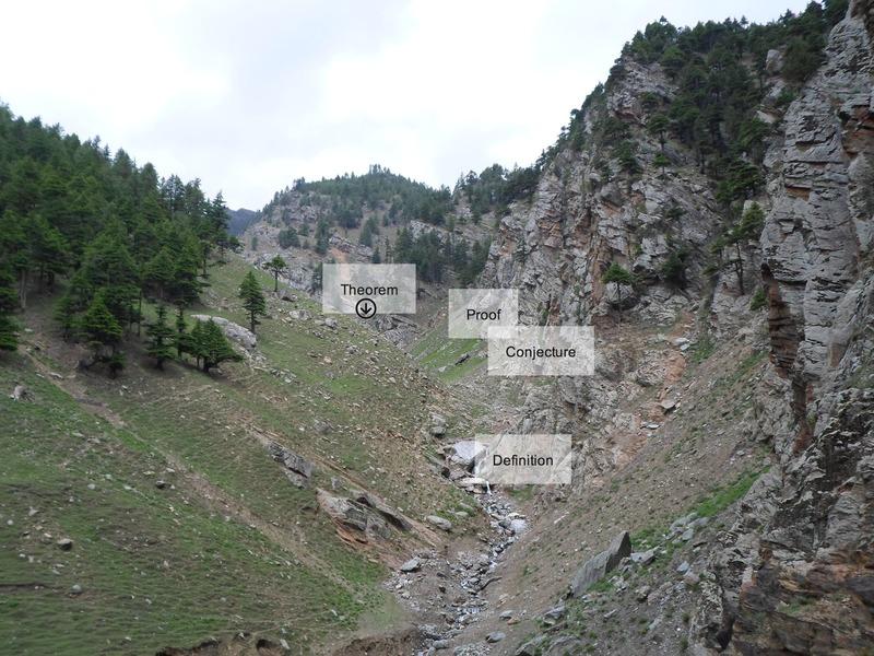 Kalpa cliff overview shot.