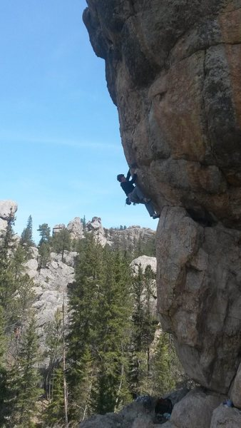 Rock Climbing Photo: Mcnabb doth climbeth