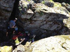 Relaxing in Koda's Cave.