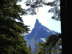 Rock Climbing Photo: Mt. Thielsen from the approach.