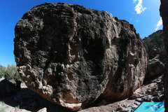 Rock Climbing Photo: Nomad's Boulder (main) east face.