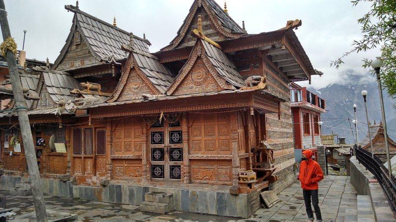 traditional Kinnauri temple, in Kalpa.