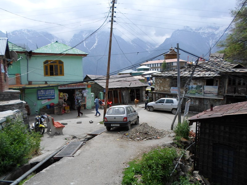 Rock Climbing Photo: Kalpa market, for supplies.