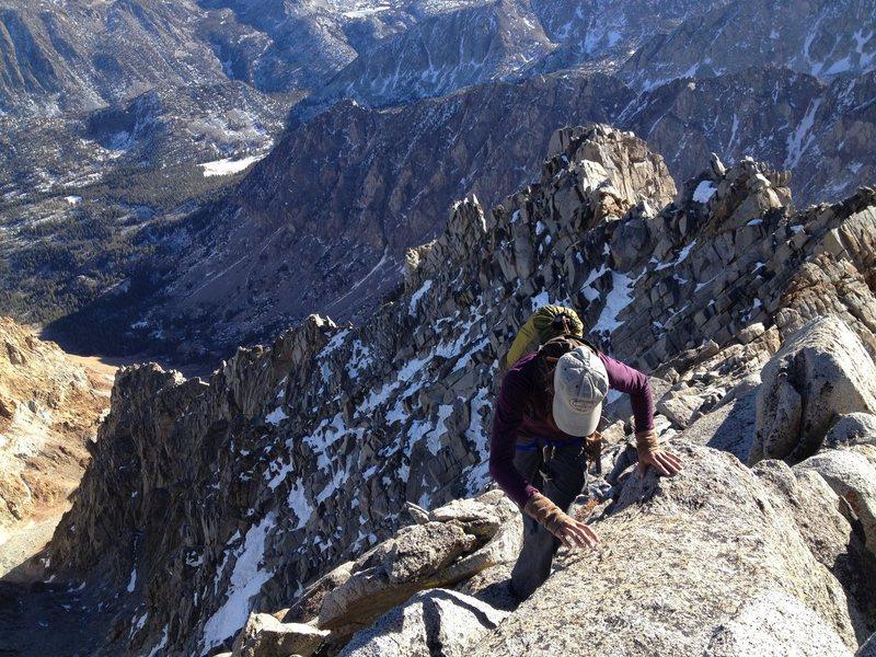 Rock Climbing Photo: SE face of Emerson