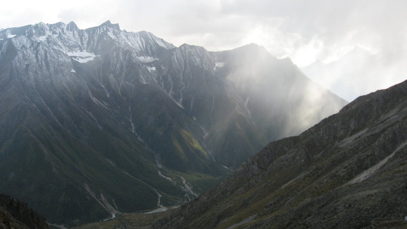 upper Sangla valley.
