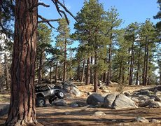 Rock Climbing Photo: Off-roading is popular in the Big Bear Area, San B...