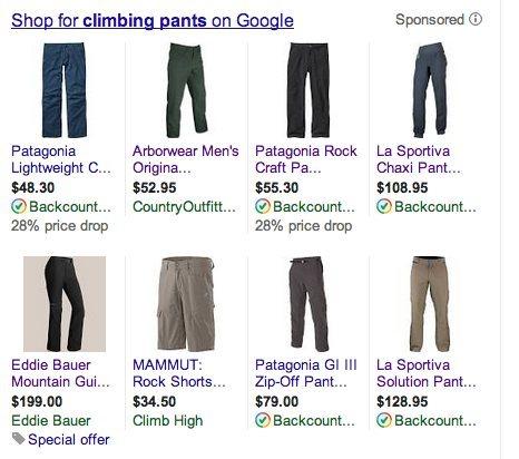 Rock Climbing Photo: climbing pants