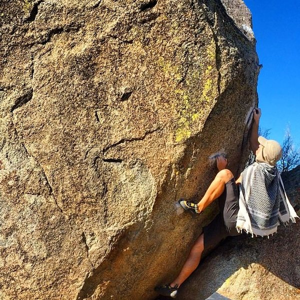 Rock Climbing Photo: Starting Holds