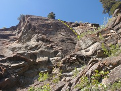 Rock Climbing Photo: This route could use a few more bolts.