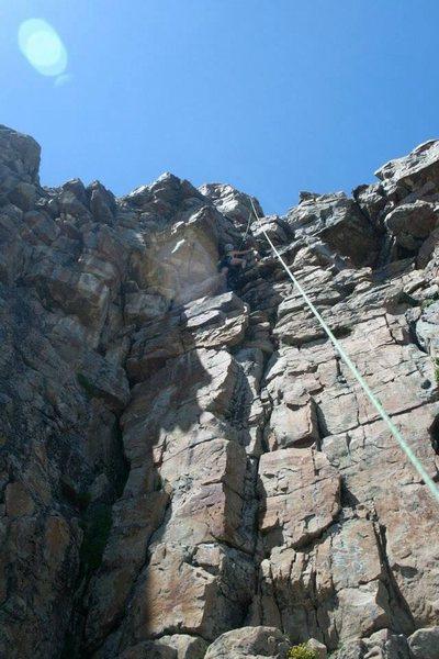 Rock Climbing Photo: Kimie cool and calm
