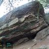 Moon Rock:<br> <br> [[Upper Traverse, V0]]105763233.<br> [[Middle Traverse, V1]]105763236.