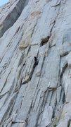 Rock Climbing Photo: leading Modern Trad