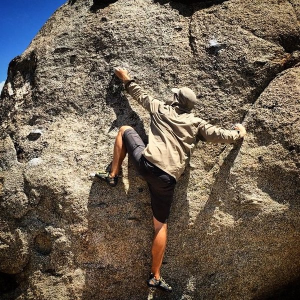 Rock Climbing Photo: Black Panther in Wakanda