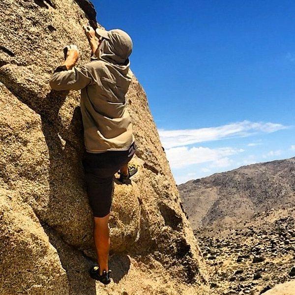 Rock Climbing Photo: Being Daredevil myself