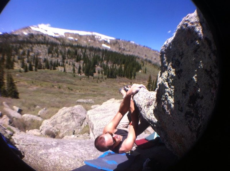 Rock Climbing Photo: Long Traverse.