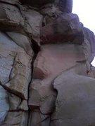 Rock Climbing Photo: Cracks below bombay chimney.