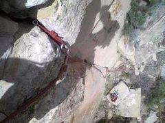 Rock Climbing Photo: Heh! . . .