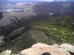 Rock Climbing Photo: Distance.