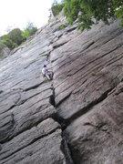 Rock Climbing Photo: best 5.7