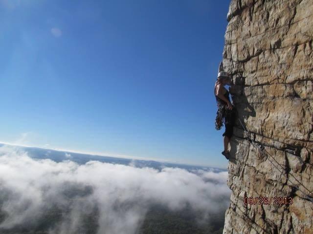 Rock Climbing Photo: airy