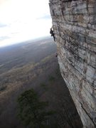 Rock Climbing Photo: Climbers on Pitch 2
