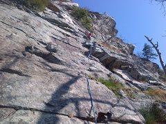 Rock Climbing Photo: Start of CCK