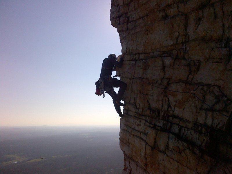 Rock Climbing Photo: Bonnie's Roof p2