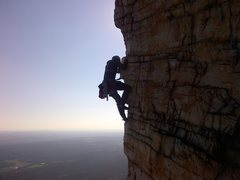 Rock Climbing Photo: Bonnie's Roof p2