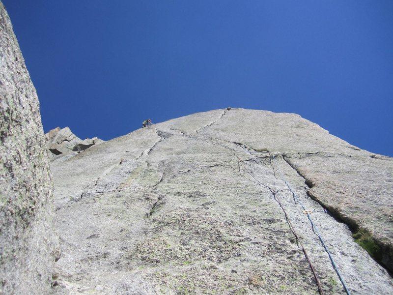 Rock Climbing Photo: K-cracks, South Buttress, Pingora