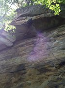 Rock Climbing Photo: Flash of Satisfaccion Guaranteed