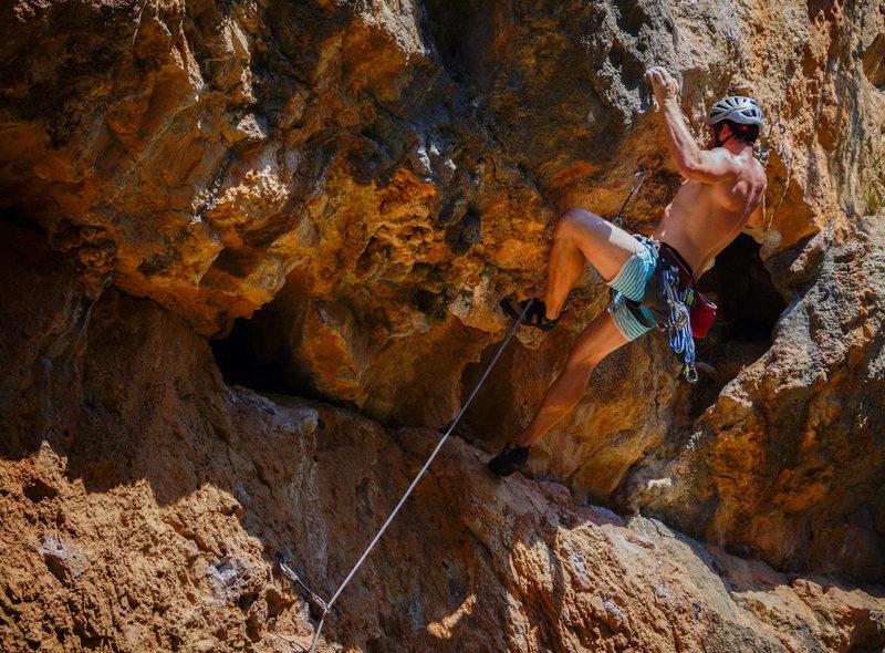 Climbing on Kum Laude