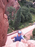 Rock Climbing Photo: 11July2014 Climbing with the Father in Law. White ...
