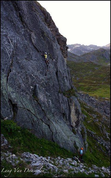 Rock Climbing Photo: Kris Klein on Route 66
