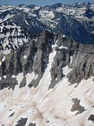 Rock Climbing Photo: Gilpin's North face from Mt. Sneffels, last weeken...