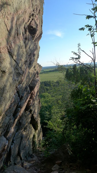Down Under. Home of hard Ottawa sport climbing.
