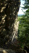 Rock Climbing Photo: The steep walls of DU.