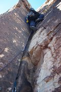 Rock Climbing Photo: P2 vegas