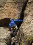 Rock Climbing Photo: Bailey Direct, Durrance route